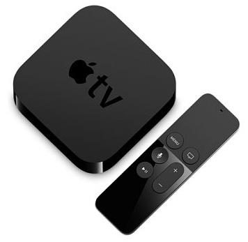 Apple TV 4th generation box