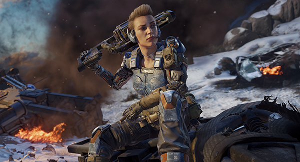 Call of Duty Black Ops 3 Character