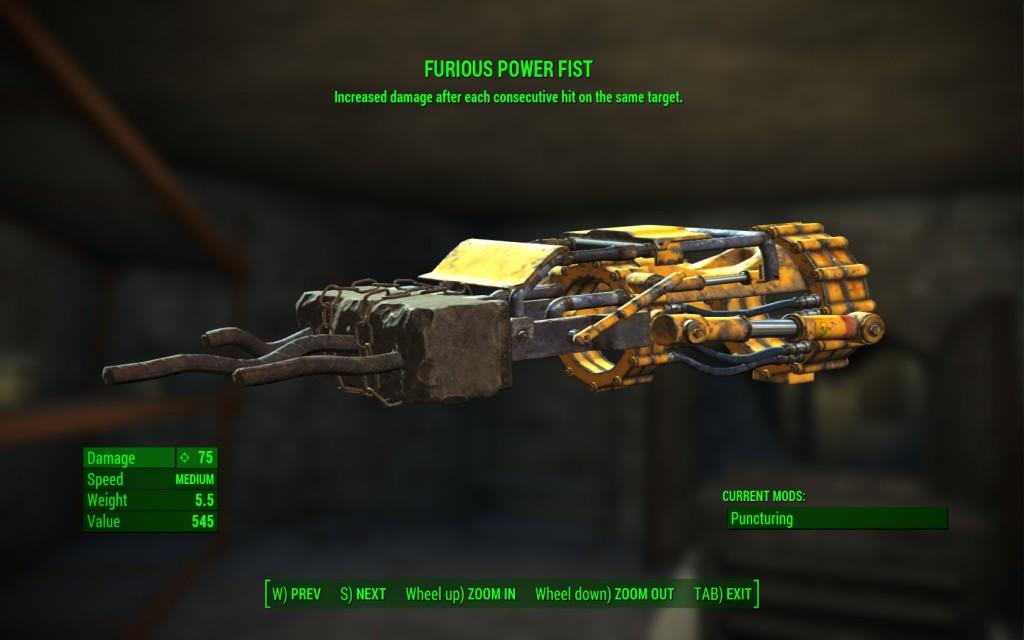 Furious Power Fist