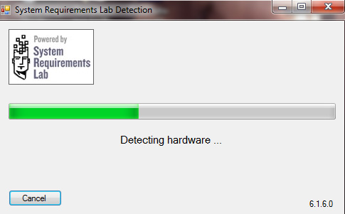 Can You Run It - System Requirements Lab